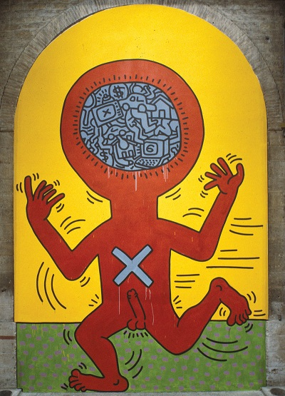 KEITH HARING_The Ten Commandments