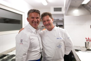 Chef Ilija Pejic & Chicco Cerea_ credit Fabrice Gallina