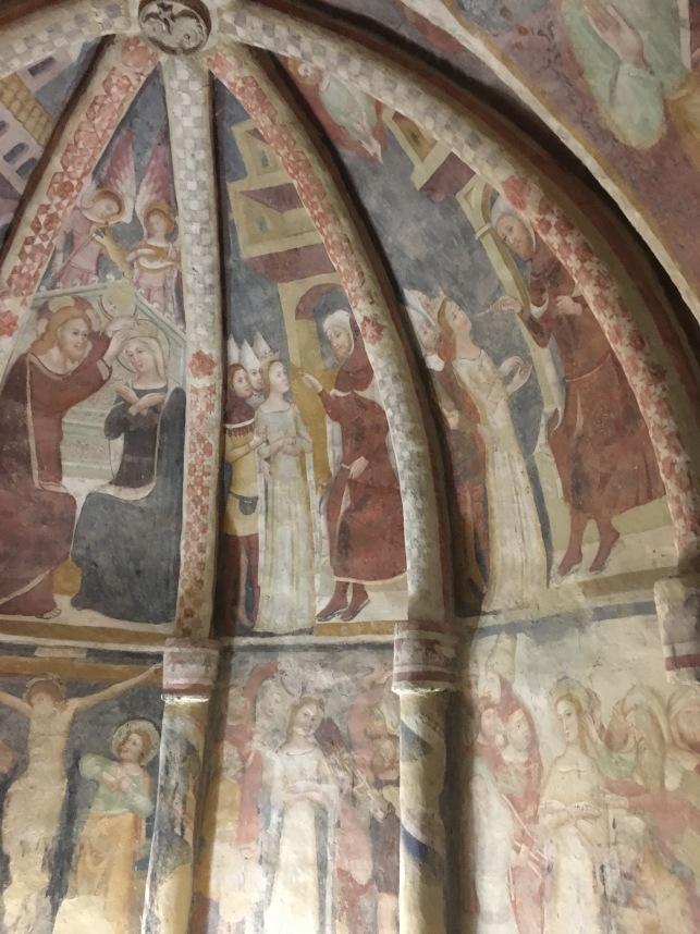 offida - Santa Maria della Rocca affreschi2