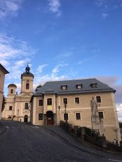 banska stavnica - scorcio centro storico