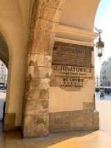 Krakow - ingresso mercato centrale