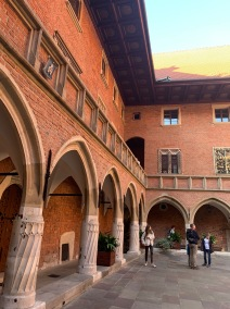 Krakow - Jagellonian University cortile