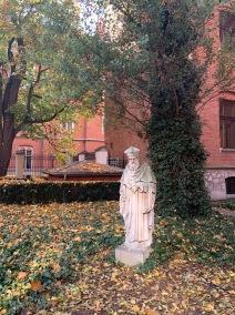 Krakow - Jagellonian University giardino